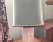 STUNNING 1940s 1950s Art Deco Hollywood Regency Tulip Table Lamp Rewired and Works