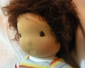 RESERVED For Mary-waldorf doll-waldorf inspired doll-bedhead boy