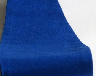 Fabric Headband, Wide, Womens, Solid Royal Blue