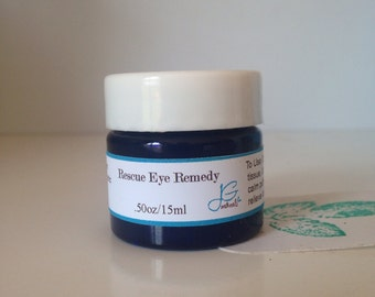 Natural Rescue Eye Remedy for Allergy sufferers, Dark Circles, Puffiness