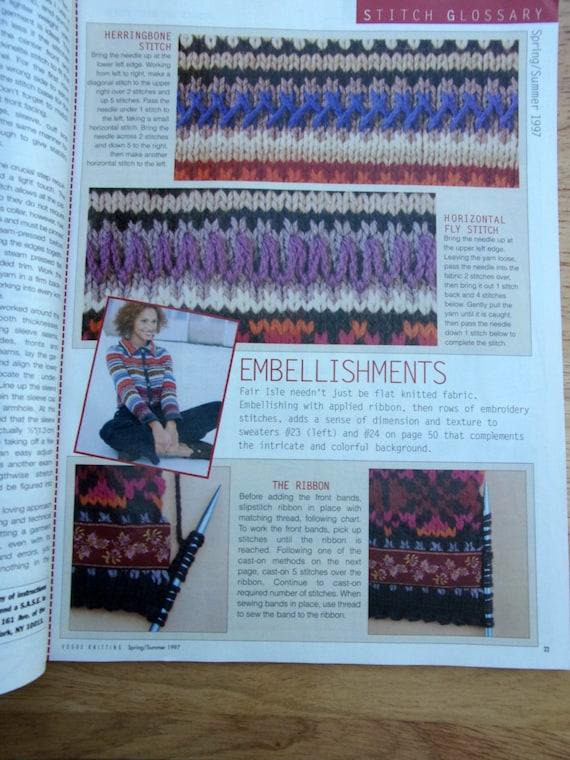 Knitting patterns vogue knitting international spring for International home decor magazines
