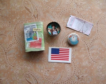 Altered MatchBox, Bottle Cap, Tag and More - Explore