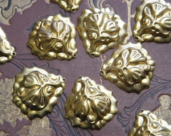 Vintage Brass Drop Findings Supply