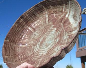 SALE Large Bowl LUCRETIA - Handmade Pottery