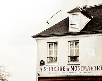 St Pierre - Montmartre Paris Landscape Photography Art Print by Leigh Viner