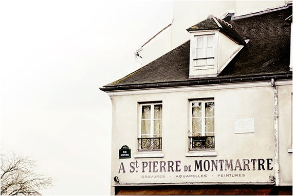 St Pierre - Montmartre Paris Landscape Photography Art Print by Leigh Viner
