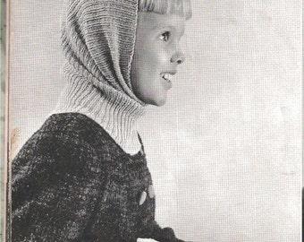 Knit Child's Winter Helmet (BernGif)