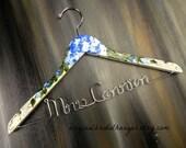Wedding Dress Hanger with Name Bride Hanger Personalized Dress Hanger Wedding Hangers  Wire Name Hangers Bridal Shower Gifts Custom