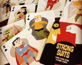 Strong Suits: Comic Book Hero Playing Cards