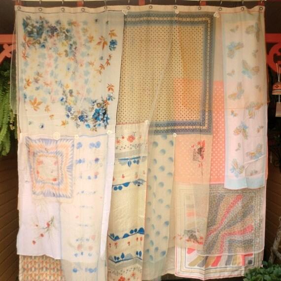 DESERT ANGEL Handmade Gypsy Shower Curtain by BabylonSisters