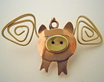 When Pigs Fly Pin