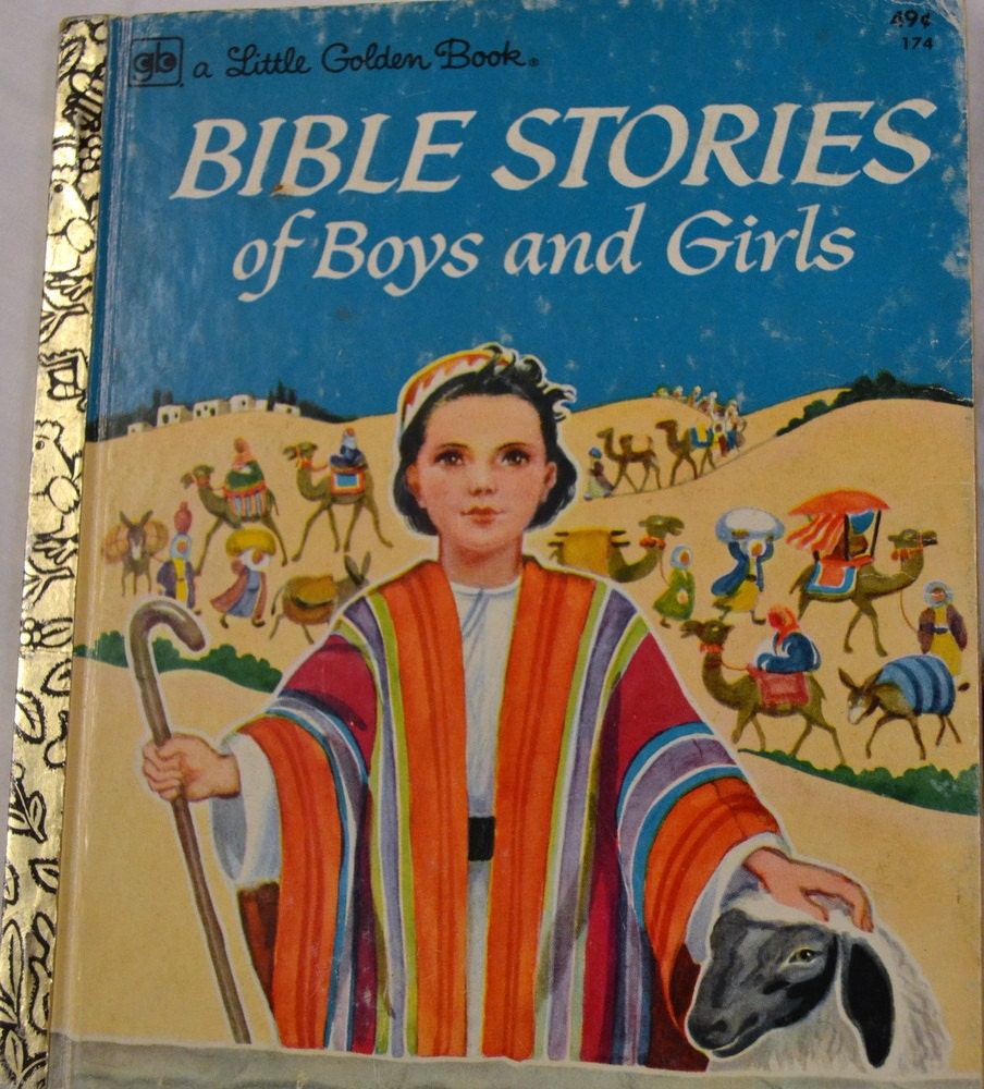 Story Of A Kashmiri S Girl By: Vintage Children's Book Bible Stories Of Boys And Girls