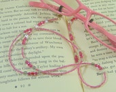 Pink Eyeglass Holder