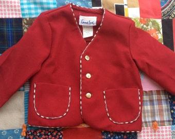 70s Suit Coat 9-12 Months