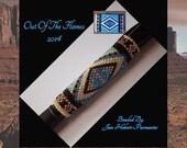 Bead PATTERN Southwestern G2 Pen Wrap Peyote or Brick stitch