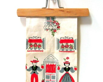 Bucilla Kitchen Towel - Linen Towel - Dream House No. 5630 - Set of 2 - One New, One Used