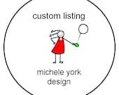 Custom Order for kfhenley