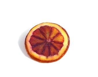 Glitter Citrus Pin, Blood Orange, Lemon, Lime