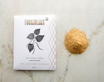 Organic Face Scrub - Cleansing Grains - Organic Skin Care