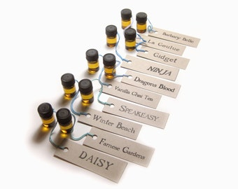 Deluxe Perfume Oil Sample Set 3 by Scent by the Sea - A Caravan of Fragrant Treasures