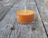 Spiced Orange Clove  Scent Soy Tealight Candles Rustic