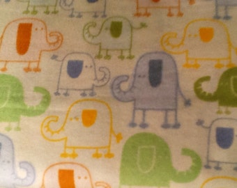ELEPHANTS flannel lounge pants/pajama pants children's sizes 0-3 to size 5.