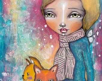 CatGirl - Art Print
