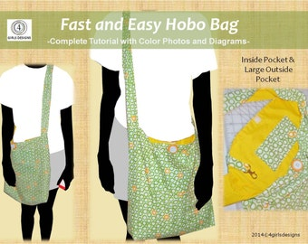 Hobo bag pattern | Etsy