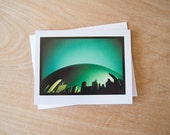 The Bean - 4.25x5.5 Greeting Card