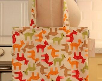 Book Bag Tote Purse - Bambi Deer