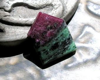 Ruby Zoisite Cabochon- Arrow Shaped Custom Cabochon For Jewelry Making- Gemstone Cabochon