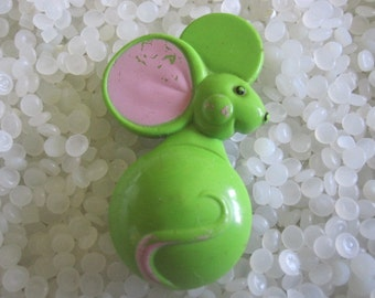 vintage Avon whimsical mouse perfume glace pin