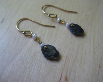 Insouciant Studios Tiny Classic Trilobite Earrings