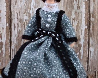 Historical Doll Elizabeth Custer Miniature Art Civil War Era
