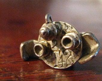 Vintage STERLING Silver T 4 2 Charm Bracelet CHARM