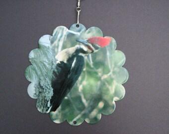 Woodpecker Wind Spinner
