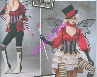 Simplicity 1301 Fairy Costume Sewing Pattern Sizes 6-8-10-12-14 Amy Brown Fairy Art Fantasy Costumes Goth