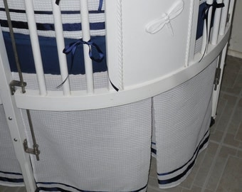 Custom Made Crib Skirt Options/ Additions ....Trim Option