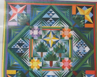 Design And Make Your Own Contemporary Sampler Quilt Book by Katie Pasquini