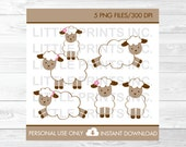 Cute Lamb Clipart / Lamb ...