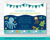 Under the Sea Birthday In...