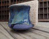 Celt Blue Kitchen Sponge Holder / Napkin Holder