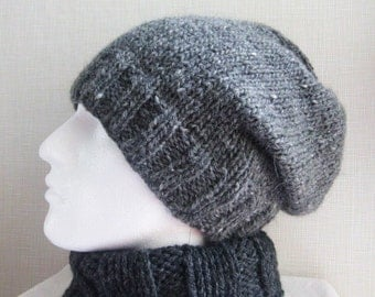 Free Knitting Pattern Beret Straight Needles : EASY BERET KNITTING PATTERN STRAIGHT NEEDLES   KNITTING PATTERN