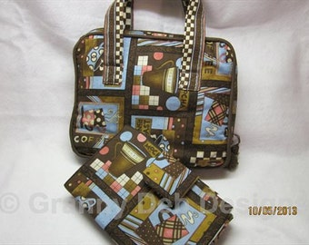 Tablet Wallet and Bag   2 piece SET