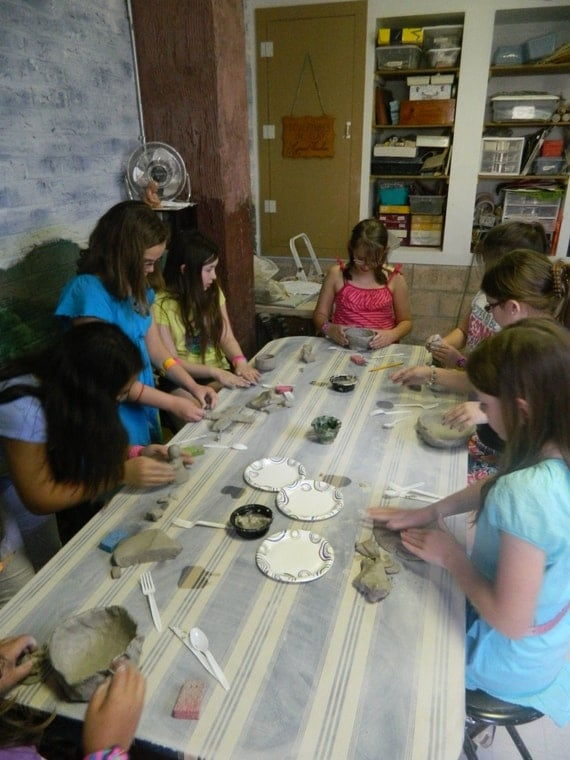 Pottery Workshop for Beginners Kids 8 years old, 2:00-4pm pre-registration required