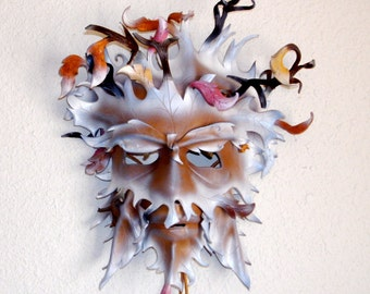 Father Winter Greenman Leather mask