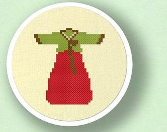 Hanbok. Korean Cross Stitch PDF Pattern Instant Download