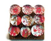 Decorative Glass Push Pins  Thumb Tacks Cork Board Pins in Dazzle (P76)