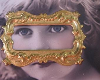 Raw Brass Frame Stamping 25RAW x2