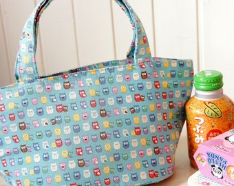 Japanese handmade cute Insulated Lunchbag - Free Shipping